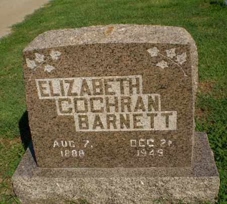 BARNETT, ELIZABETH - Clay County, Arkansas | ELIZABETH BARNETT - Arkansas Gravestone Photos