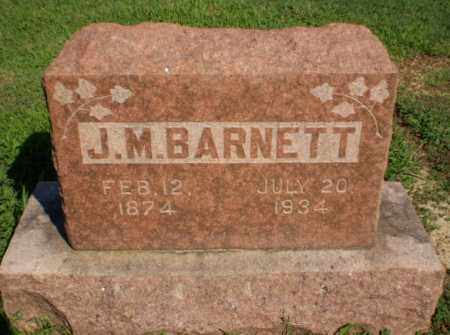 BARNETT, J.M. - Clay County, Arkansas | J.M. BARNETT - Arkansas Gravestone Photos