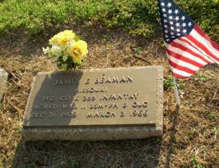 BEAMAN  (VETERAN WWII), JAMES E - Clay County, Arkansas | JAMES E BEAMAN  (VETERAN WWII) - Arkansas Gravestone Photos