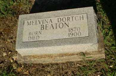 BEATON, MELVINA - Clay County, Arkansas | MELVINA BEATON - Arkansas Gravestone Photos