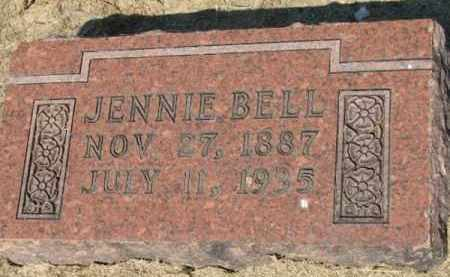 BELL, JENNIE - Clay County, Arkansas | JENNIE BELL - Arkansas Gravestone Photos