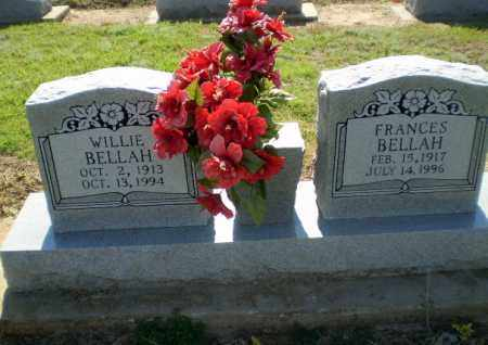 BELLAH, WILLIE - Clay County, Arkansas | WILLIE BELLAH - Arkansas Gravestone Photos