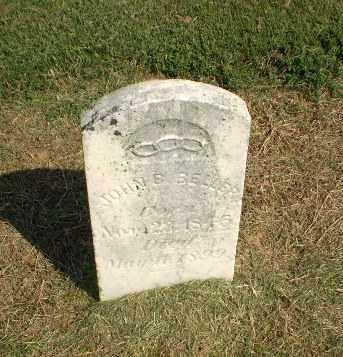 BELLER, JOHN B - Clay County, Arkansas | JOHN B BELLER - Arkansas Gravestone Photos