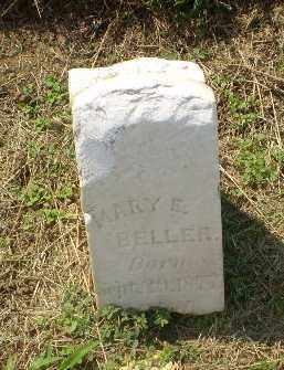 BELLER, MARY E - Clay County, Arkansas | MARY E BELLER - Arkansas Gravestone Photos