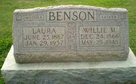 BENSON, WILLIE M - Clay County, Arkansas | WILLIE M BENSON - Arkansas Gravestone Photos