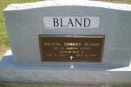 BLAND  (VETERAN WWII), MELVIN EDWARD - Clay County, Arkansas | MELVIN EDWARD BLAND  (VETERAN WWII) - Arkansas Gravestone Photos