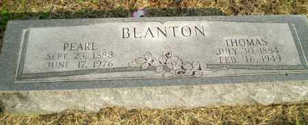 BLANTON, PEARL - Clay County, Arkansas | PEARL BLANTON - Arkansas Gravestone Photos