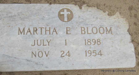 BLOOM, MARTHA E - Clay County, Arkansas | MARTHA E BLOOM - Arkansas Gravestone Photos