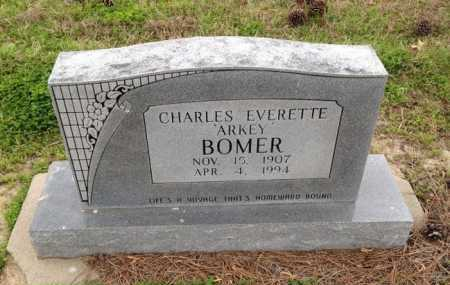 "BOMER, CHARLES EVERETTE ""ARKEY"" - Clay County, Arkansas 