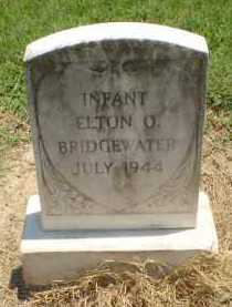 BRIDGEWATER, ELTON O (INFANT) - Clay County, Arkansas | ELTON O (INFANT) BRIDGEWATER - Arkansas Gravestone Photos