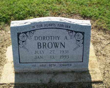 BROWN, DOROTHY A - Clay County, Arkansas | DOROTHY A BROWN - Arkansas Gravestone Photos