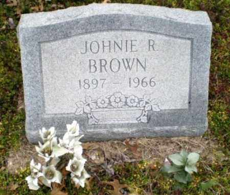 BROWN, JOHNIE R. - Clay County, Arkansas | JOHNIE R. BROWN - Arkansas Gravestone Photos
