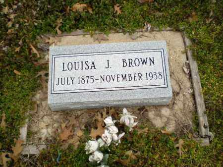 BROWN, LOUISA J. - Clay County, Arkansas | LOUISA J. BROWN - Arkansas Gravestone Photos