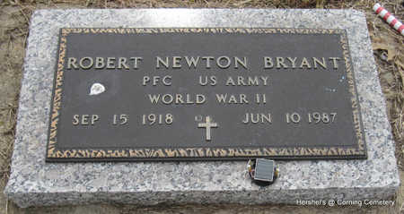 BRYANT  (VETERAN WWII), ROBERT NEWTON - Clay County, Arkansas | ROBERT NEWTON BRYANT  (VETERAN WWII) - Arkansas Gravestone Photos