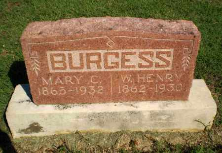 BURGESS, W. HENRY - Clay County, Arkansas | W. HENRY BURGESS - Arkansas Gravestone Photos