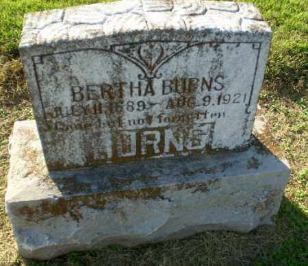 BURNS, BERTHA - Clay County, Arkansas | BERTHA BURNS - Arkansas Gravestone Photos