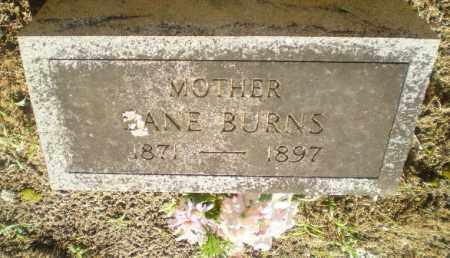 BURNS, JANE - Clay County, Arkansas | JANE BURNS - Arkansas Gravestone Photos