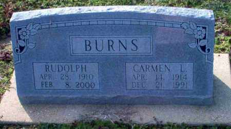 BURNS, RUDOLPH - Clay County, Arkansas | RUDOLPH BURNS - Arkansas Gravestone Photos
