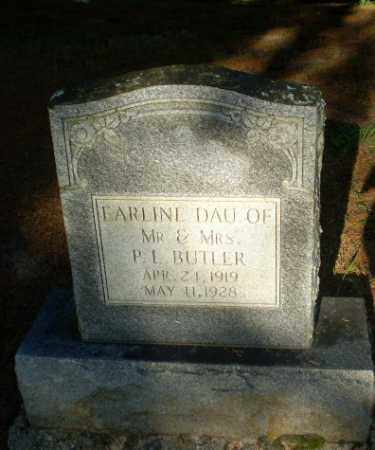 BUTLER, EARLINE - Clay County, Arkansas | EARLINE BUTLER - Arkansas Gravestone Photos