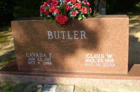 BUTLER, LAVADA E - Clay County, Arkansas | LAVADA E BUTLER - Arkansas Gravestone Photos
