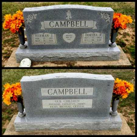 CAMPBELL, HERMAN J - Clay County, Arkansas | HERMAN J CAMPBELL - Arkansas Gravestone Photos