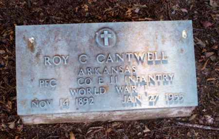 CANTWELL  (VETERAN WWI), ROY C - Clay County, Arkansas | ROY C CANTWELL  (VETERAN WWI) - Arkansas Gravestone Photos