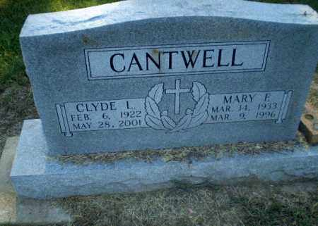CANTWELL, CLYDE L - Clay County, Arkansas | CLYDE L CANTWELL - Arkansas Gravestone Photos