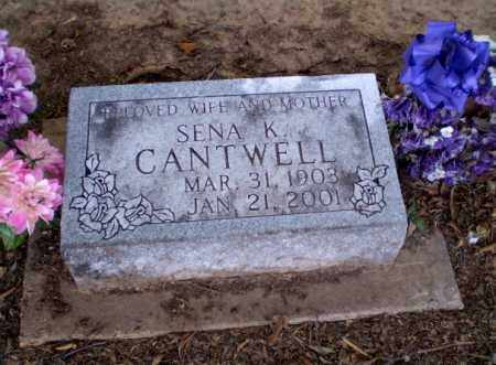 CANTWELL, SENA K - Clay County, Arkansas | SENA K CANTWELL - Arkansas Gravestone Photos
