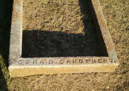 CAROTHERS, CORA G - Clay County, Arkansas | CORA G CAROTHERS - Arkansas Gravestone Photos