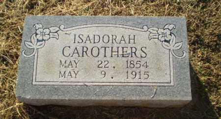 CAROTHERS, ISADORAH - Clay County, Arkansas | ISADORAH CAROTHERS - Arkansas Gravestone Photos
