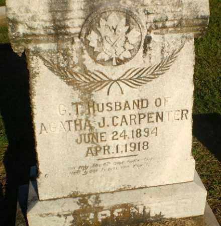 CARPENTER, GEORGE THOMPSON - Clay County, Arkansas   GEORGE THOMPSON CARPENTER - Arkansas Gravestone Photos