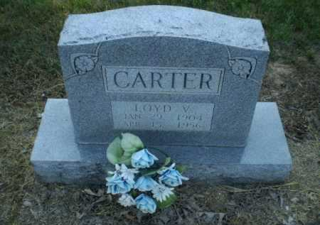 CARTER, LOYD V - Clay County, Arkansas | LOYD V CARTER - Arkansas Gravestone Photos