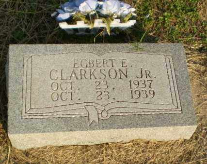 CLARKSON, JR, EGBERT E - Clay County, Arkansas | EGBERT E CLARKSON, JR - Arkansas Gravestone Photos