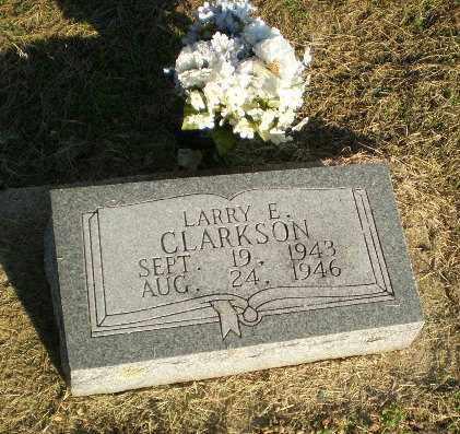 CLARKSON, LARRY E - Clay County, Arkansas | LARRY E CLARKSON - Arkansas Gravestone Photos