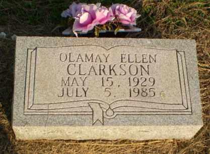 CLARKSON, OLAMAY ELLEN - Clay County, Arkansas | OLAMAY ELLEN CLARKSON - Arkansas Gravestone Photos
