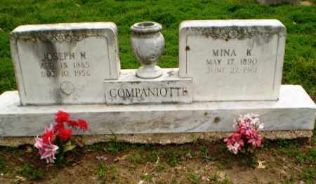 COMPANIOTTE, MINA - Clay County, Arkansas | MINA COMPANIOTTE - Arkansas Gravestone Photos
