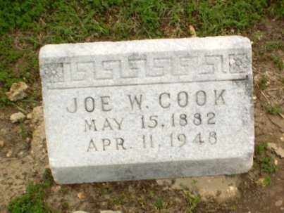 COOK, JOE W - Clay County, Arkansas | JOE W COOK - Arkansas Gravestone Photos