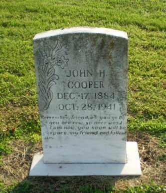 COOPER, JOHN H - Clay County, Arkansas | JOHN H COOPER - Arkansas Gravestone Photos