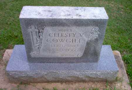 COWGILL, CELESTY V - Clay County, Arkansas | CELESTY V COWGILL - Arkansas Gravestone Photos