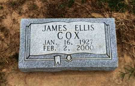 COX, JAMES ELLIS - Clay County, Arkansas | JAMES ELLIS COX - Arkansas Gravestone Photos