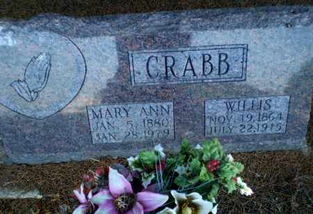 CRABB, WILLIS - Clay County, Arkansas | WILLIS CRABB - Arkansas Gravestone Photos