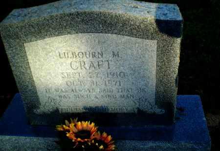 CRAFT, LILBOURN M - Clay County, Arkansas   LILBOURN M CRAFT - Arkansas Gravestone Photos