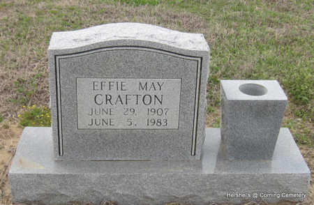 CRAFTON, EFFIE MAY - Clay County, Arkansas | EFFIE MAY CRAFTON - Arkansas Gravestone Photos