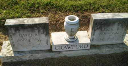 CRAWFORD, LESSIE E - Clay County, Arkansas | LESSIE E CRAWFORD - Arkansas Gravestone Photos