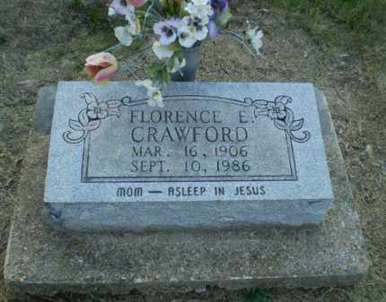 CRAWFORD, FLORENCE E - Clay County, Arkansas | FLORENCE E CRAWFORD - Arkansas Gravestone Photos