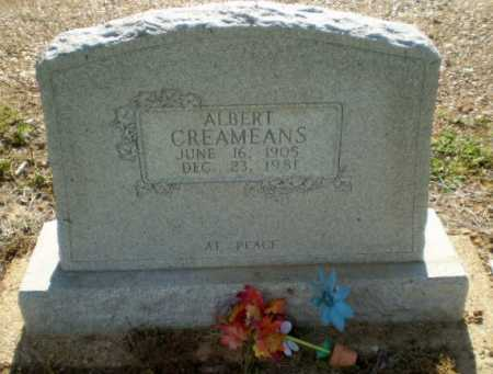 CREAMEANS, ALBERT - Clay County, Arkansas | ALBERT CREAMEANS - Arkansas Gravestone Photos