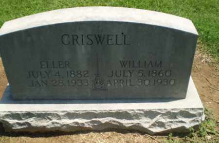 CRISWELL, ELLER - Clay County, Arkansas | ELLER CRISWELL - Arkansas Gravestone Photos