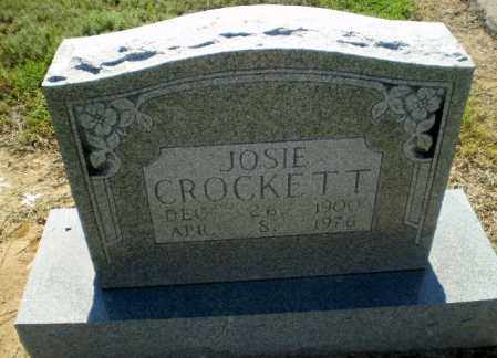CROCKETT, JOSIE - Clay County, Arkansas | JOSIE CROCKETT - Arkansas Gravestone Photos