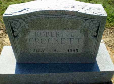 CROCKETT, ROBERT L - Clay County, Arkansas | ROBERT L CROCKETT - Arkansas Gravestone Photos