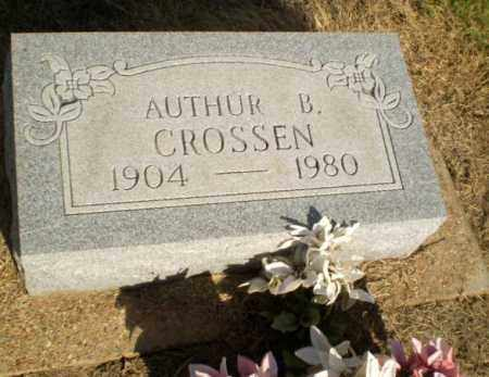 CROSSEN, AUTHUR B - Clay County, Arkansas | AUTHUR B CROSSEN - Arkansas Gravestone Photos